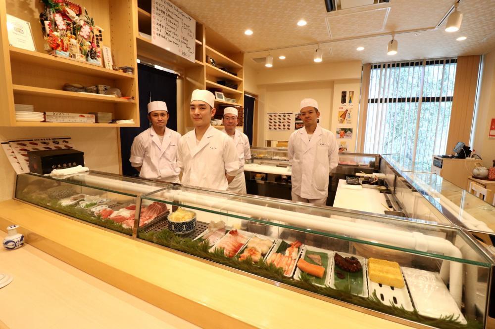 【東京 豊洲市場内】寿司職人募集