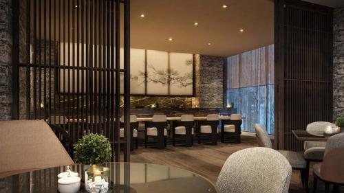 最高級ラグジュアリーホテル『リッツ・カールトン・リザーブ』内の寿司カウンターをお任せいたします!