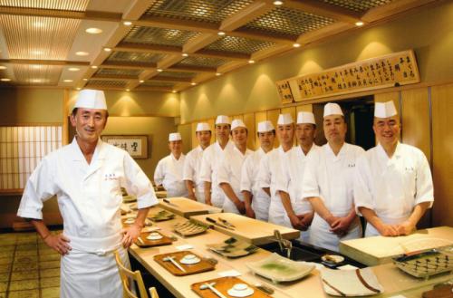銀座の老舗 久兵衛で一流の寿司職人を目指しませんか