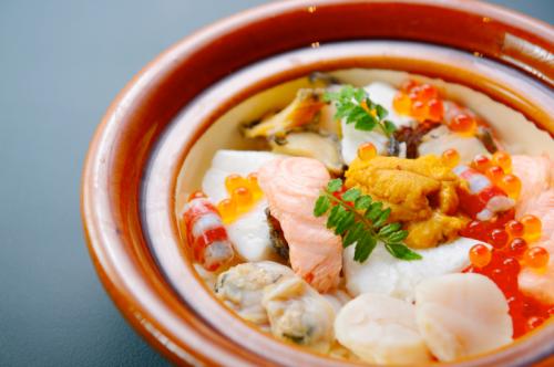 海鮮釜炊き御飯